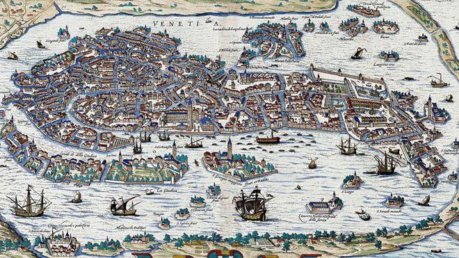 A construção de Veneza remonta ao período das invasões bárbaras (Getty Images)