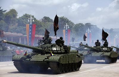 O aparato militar